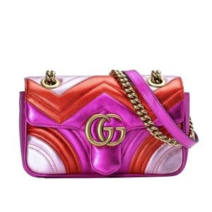 Gucci Mini Marmont Matelassé Shoulder Bag